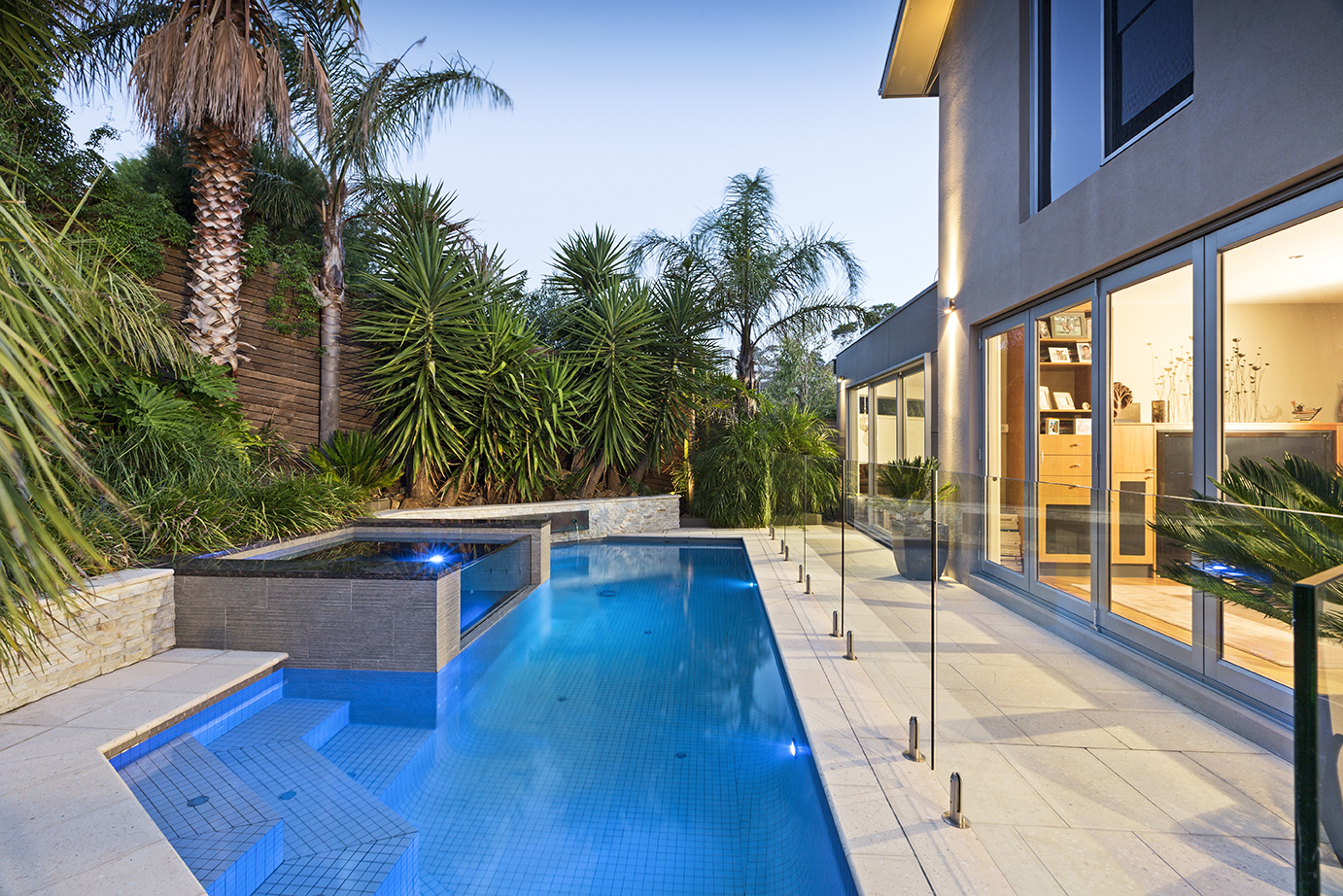 Mt Martha Concrete Pool Melbourne by Momentum Pools